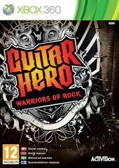 Guitar Hero: Warriors of Rock box art