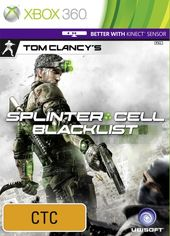 Tom Clancy's Splinter Cell: Blacklist box art