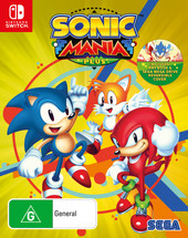 Sonic Mania Plus box art