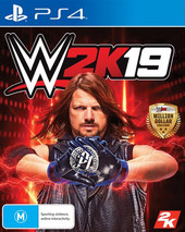 WWE 2K19 box art