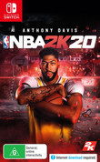NBA 2K20 box art