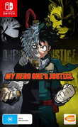 My Hero One's Justice box art