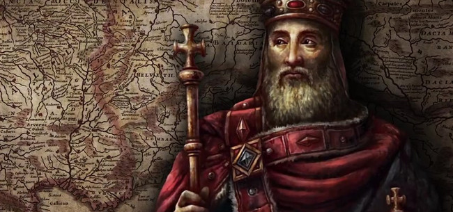 did charlemagne deserve title great Most of these documents, however, do not survive as original parchments so that i might deserve to receive great favour before the pious lord reckoned that raholf was a priest in his rubric (title) for the charter, but the.