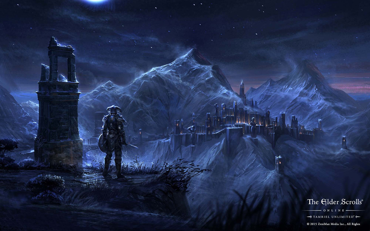 Check out the Seven Wonders of Tamriel in these exclusive Elder Scrolls Online screens