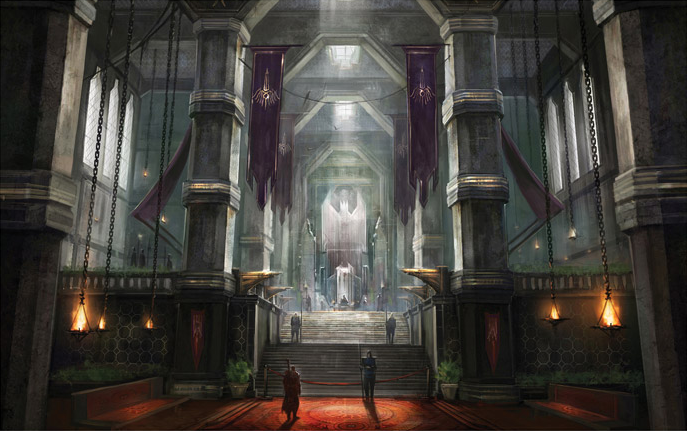 Take a peek inside the Dragon Age: Inquisition art book