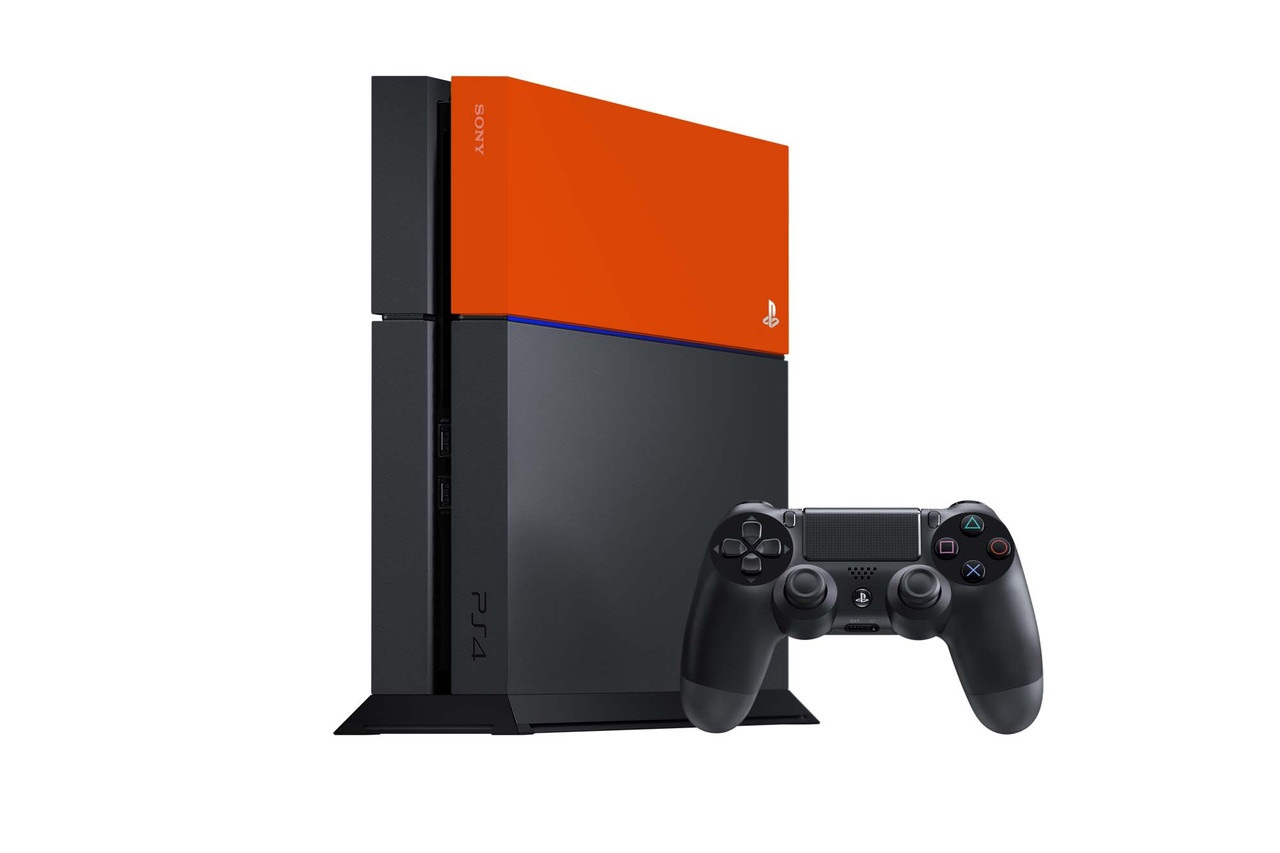 Wish a section of your PS4 was a different colour? Wish no longer!