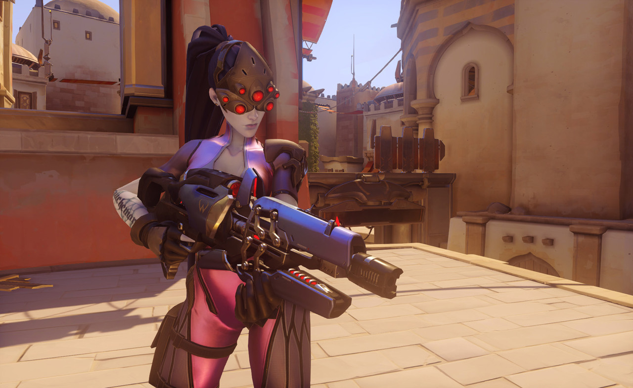 Overwatch heroes screenshots