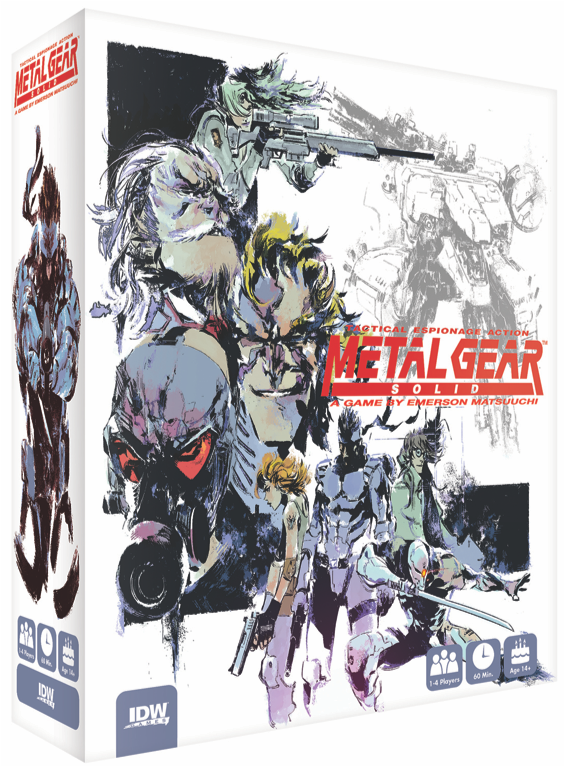 A Metal Gear Solid tabletop game just got announced