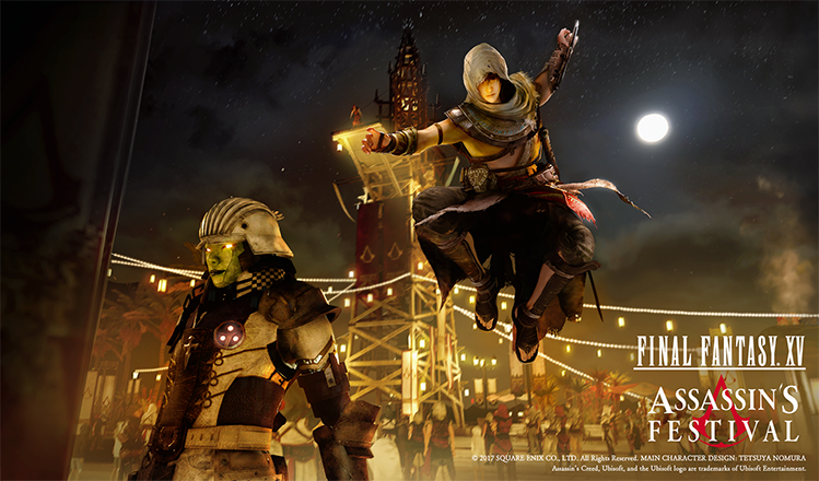 FFXV and AC: Origins crossover events coming