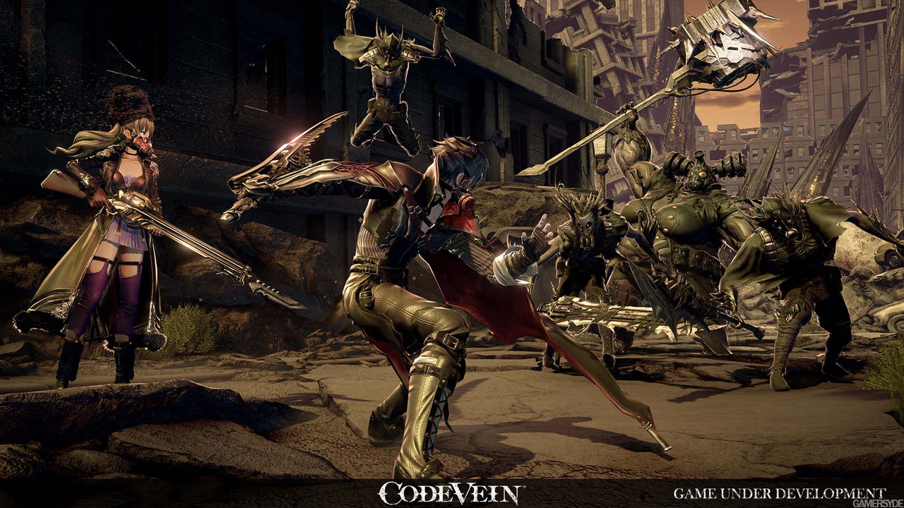 Bandai Namco unveils Code Vein, an action RPG about draining blood
