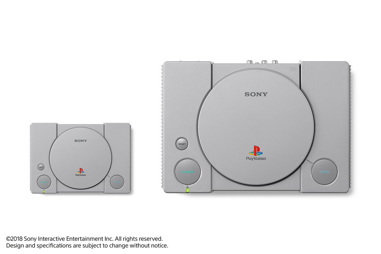 PlayStation Classic console hands-on preview