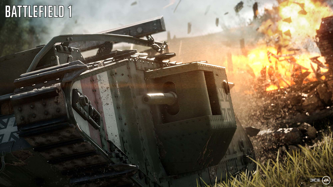 Fun First: DICE's vision for Battlefield 1