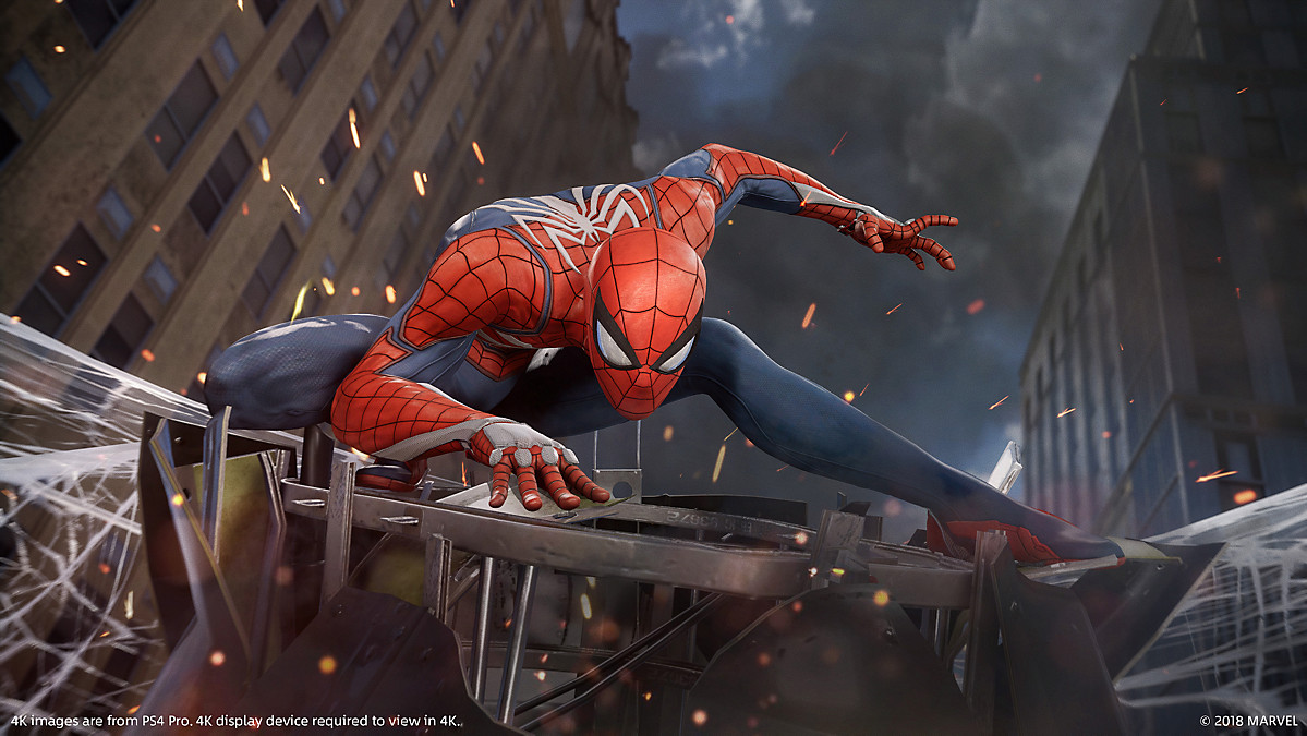 Marvel's Spider-Man - A chat with James Stevenson from Insomniac Games