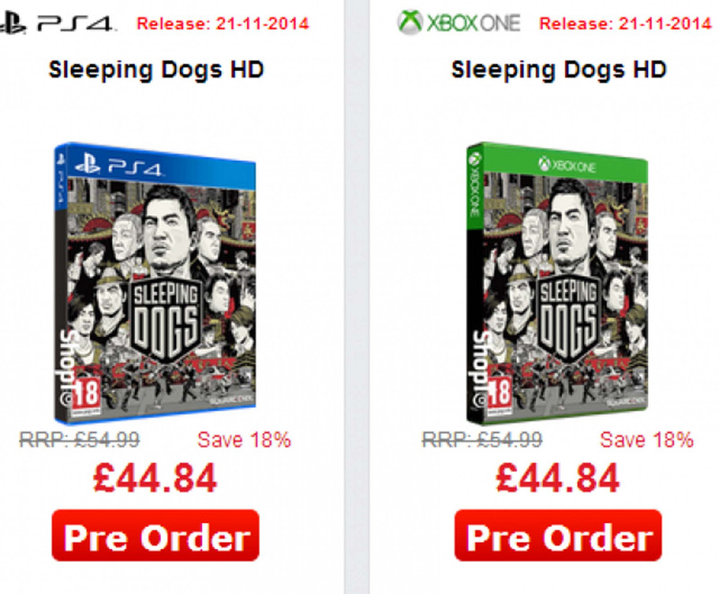 Rumour: New-gen remaster of Sleeping Dogs on the way