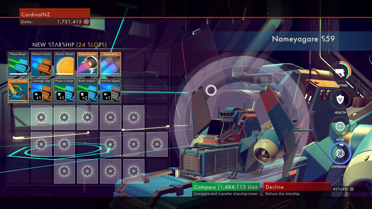 No Man's Sky review diary