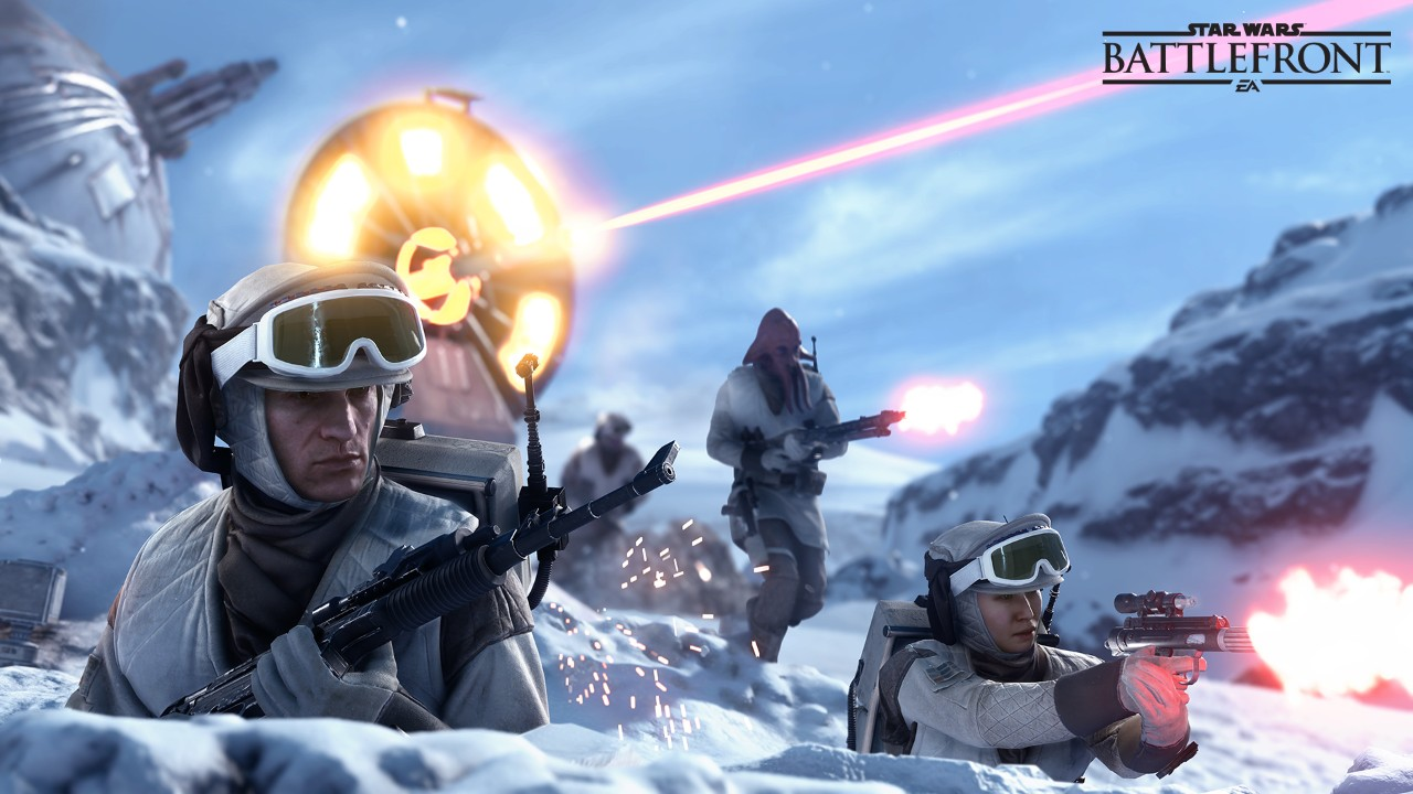 Star Wars: Battlefront's Walker Assault mode dazzles