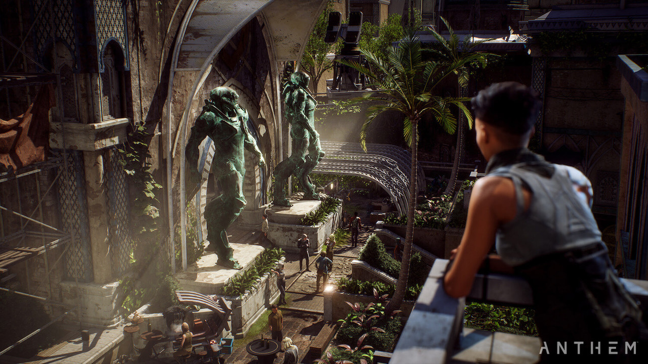Anthem demo had a shaky weekend