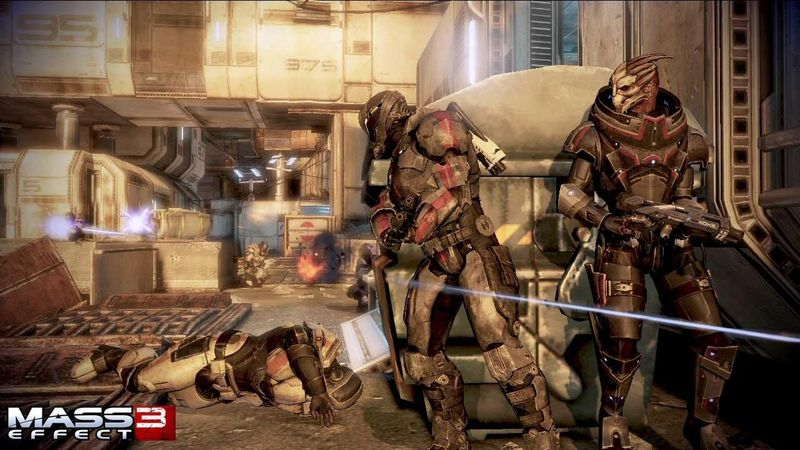 Mass Effect 3 co-op screens