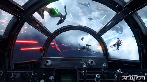 Hands-on with Star Wars: Battlefront's Fighter Squadron and Survival modes