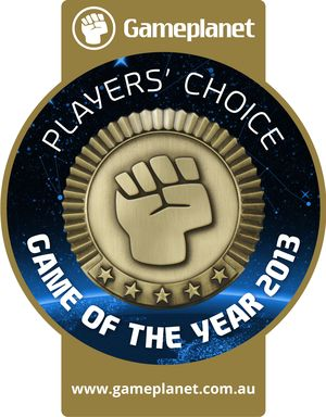 Gameplanet Players' Choice Game of the Year Awards 2013