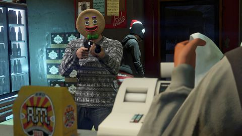 GTA Online gets in the holiday mood with Festive Surprise