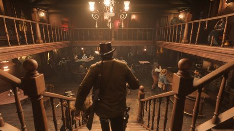 I played two hours of Red Dead Redemption 2
